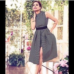 Eva Mendes Stripe Dress